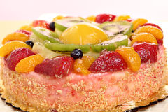 Fruit Cheesecake Royalty Free Stock Photography