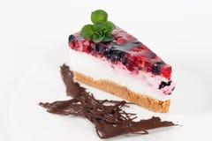 Fruit cheesecake Stock Photo