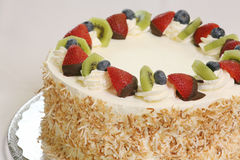 Fruit cheesecake Royalty Free Stock Photos
