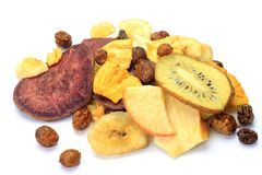 Fruit chips Royalty Free Stock Image