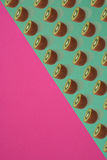 Fruit citrus seamless pattern. Royalty Free Stock Images