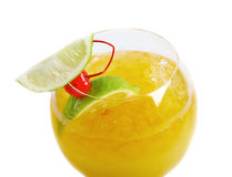 Fruit citrus tropical cocktail Royalty Free Stock Photo