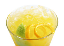 Fruit citrus tropical cocktail Royalty Free Stock Image
