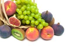 Fruit closeup on white background Royalty Free Stock Image
