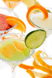 Fruit cocktail Stock Photo