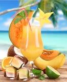 Fruit cocktail Stock Photos