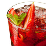 Fruit cocktail Royalty Free Stock Image