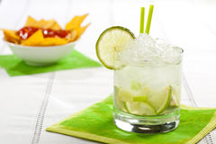 Fruit cocktail Royalty Free Stock Photography