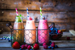 Fruit cocktail Royalty Free Stock Images