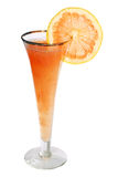 Fruit Cocktail , Clipping Path. Grapefruit cocktail isolated on white , Clipping Path included Stock Photos
