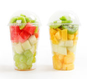 Fruit cocktails Royalty Free Stock Photo