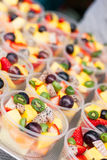Fruit cocktails Royalty Free Stock Images