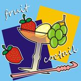Fruit coctail Stock Photography