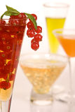 Fruit coctails Royalty Free Stock Photos