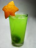 Fruit cold juice drink with kiwi Stock Images