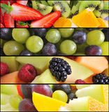 Fruit collage Stock Photo