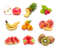 Fruit collage Royalty Free Stock Photos