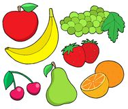 Fruit collection 1 Royalty Free Stock Image