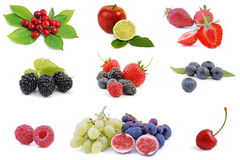 Fruit collection 2 stock images