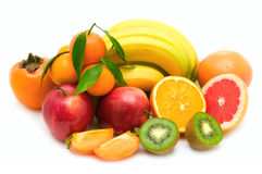 Fruit collection Royalty Free Stock Images
