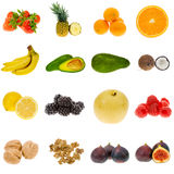 Fruit collection Stock Images
