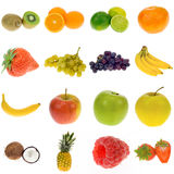 Fruit collection Royalty Free Stock Image