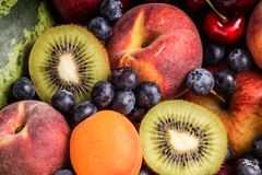 Fruit Collections Stock Photo