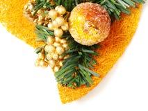 fruit coloré de décoration de Noël glacé Photographie stock