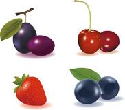 Fruit Combo Royalty Free Stock Photography