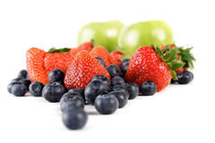 Fruit composition Royalty Free Stock Image