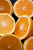 Fruit composition close up oranges Royalty Free Stock Photography