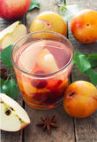 Fruit compote Stock Image