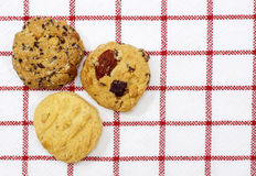 Fruit cookies Stock Images