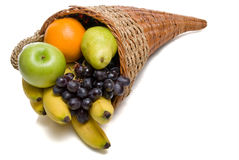 Fruit Cornucopia Stock Image
