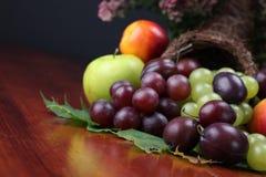 Fruit cornucopia Stock Image