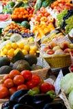 Fruit counter Stock Photo