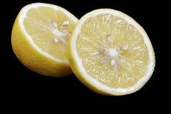 Fruit coupé en tranches de citron Photographie stock libre de droits