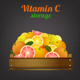 Fruit Crate Image Royalty Free Stock Photos