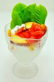 Fruit cup Royalty Free Stock Photography
