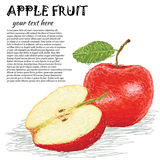 Fruit d'Apple Images stock