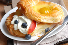 Fruit Danish Stock Photo