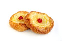 Fruit Danish pastries Royalty Free Stock Photography