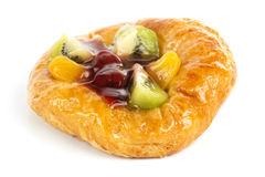 Fruit Danish pastry Royalty Free Stock Photography