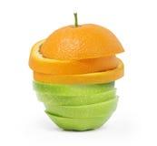 Fruit dat van verschillend fruit is Stock Afbeelding