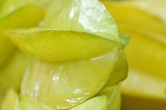 Fruit de carambolier Photo stock