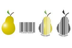 fruit de code barres illustration de vecteur