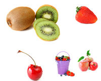 fruit de collage Photos stock