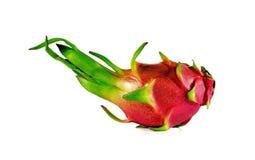 Fruit de dragon d'isolement sur le fond blanc Image libre de droits