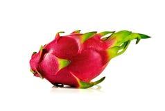 Fruit de dragon d'isolement sur le fond blanc Photos stock