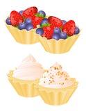 fruit de gâteau Image stock